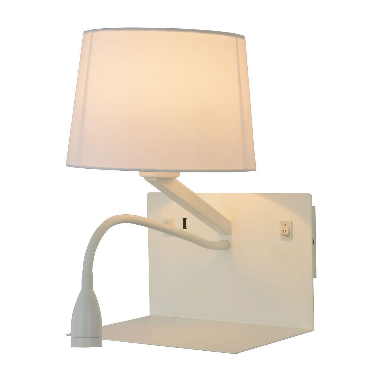 Бра Arte Lamp Ibis A1056AP-2WH потолочная люстра zaklad stolarski ibis 104 ibis 4