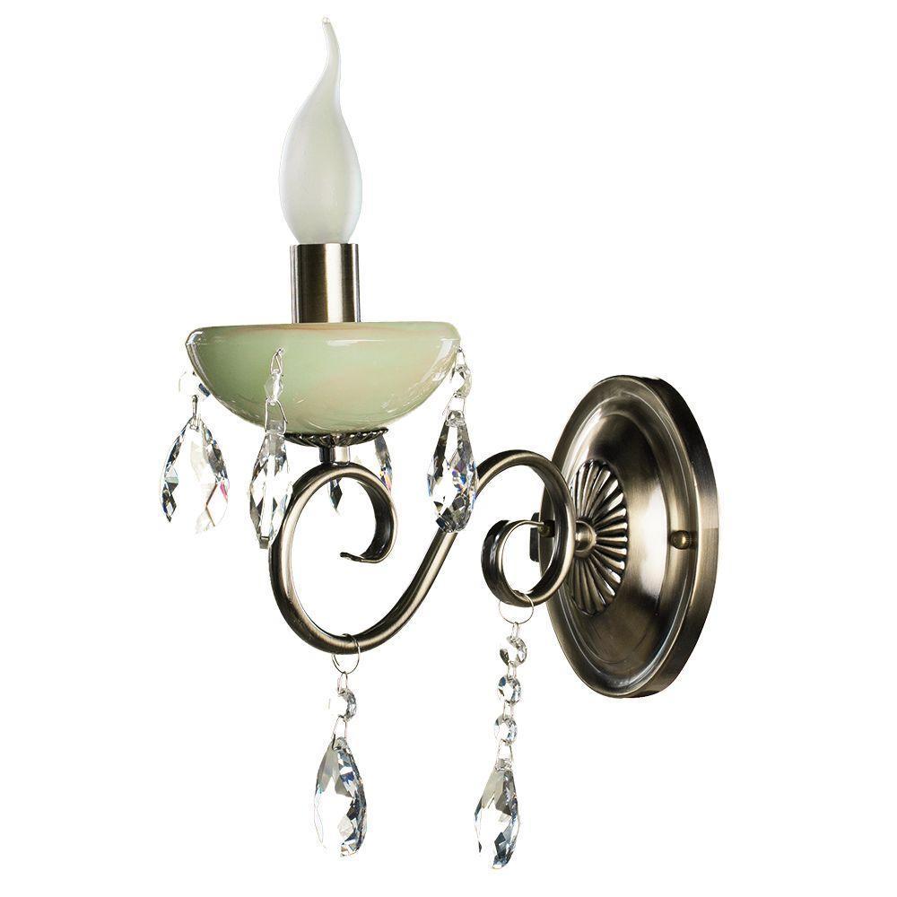 цена на Бра Arte Lamp Onyx Green A9592AP-1AB