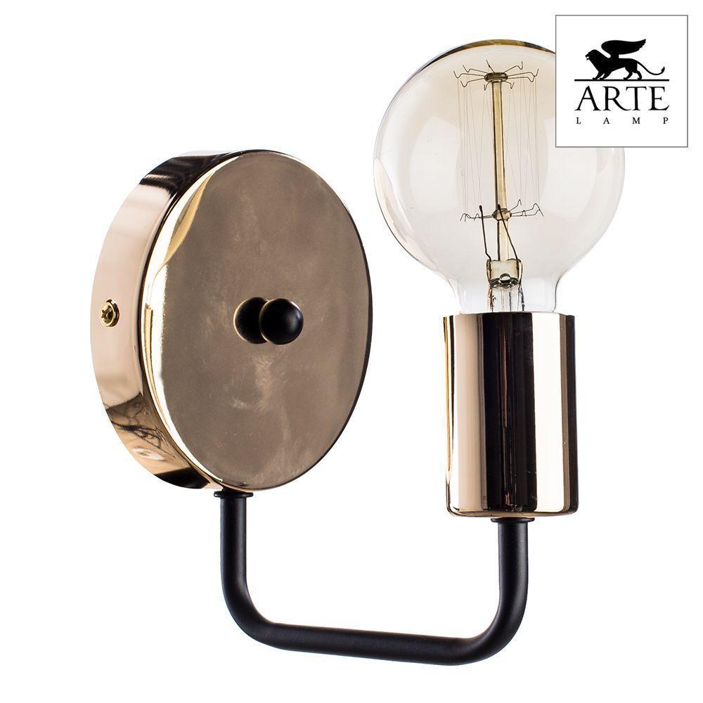 Бра Arte Lamp Gelo A6001AP-1BK бра arte lamp gelo a6001ap 1bk