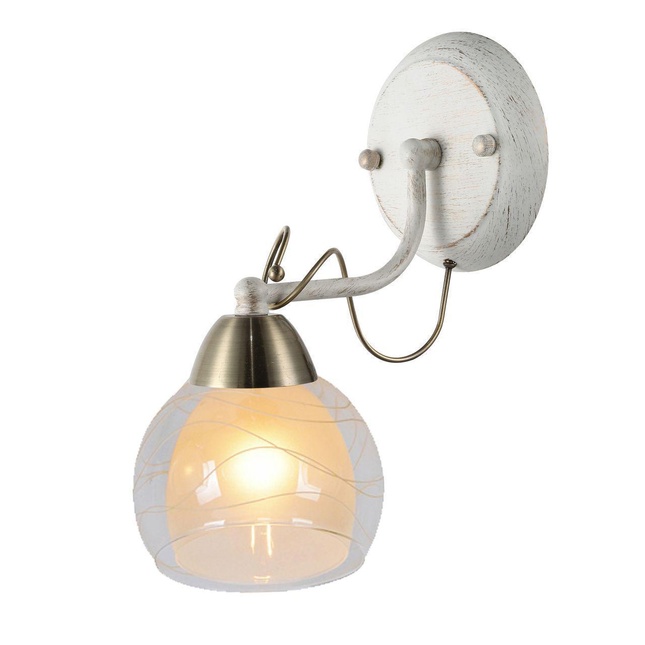 лучшая цена Бра Arte Lamp Intreccio A1633AP-1WG