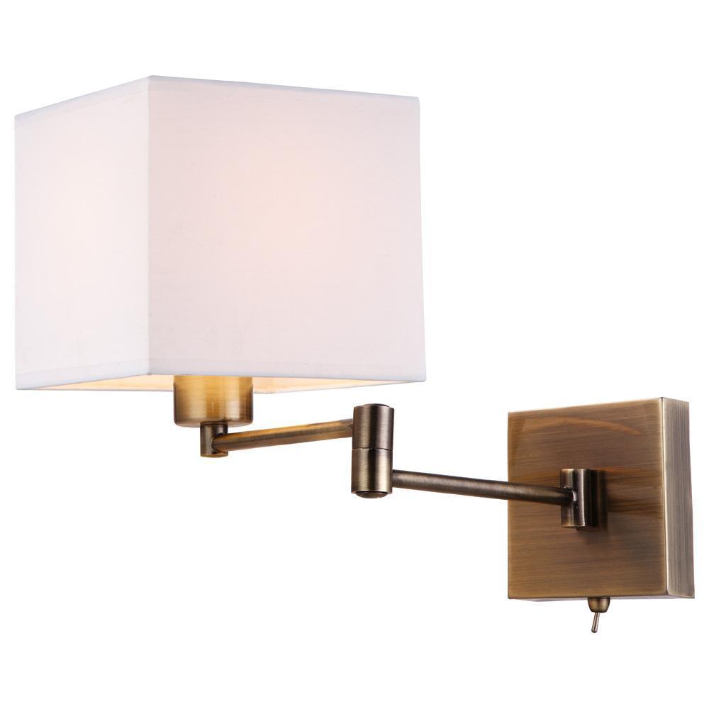 Бра Arte Lamp Cubes A9247AP-1AB бра artelamp a9247ap 1ab
