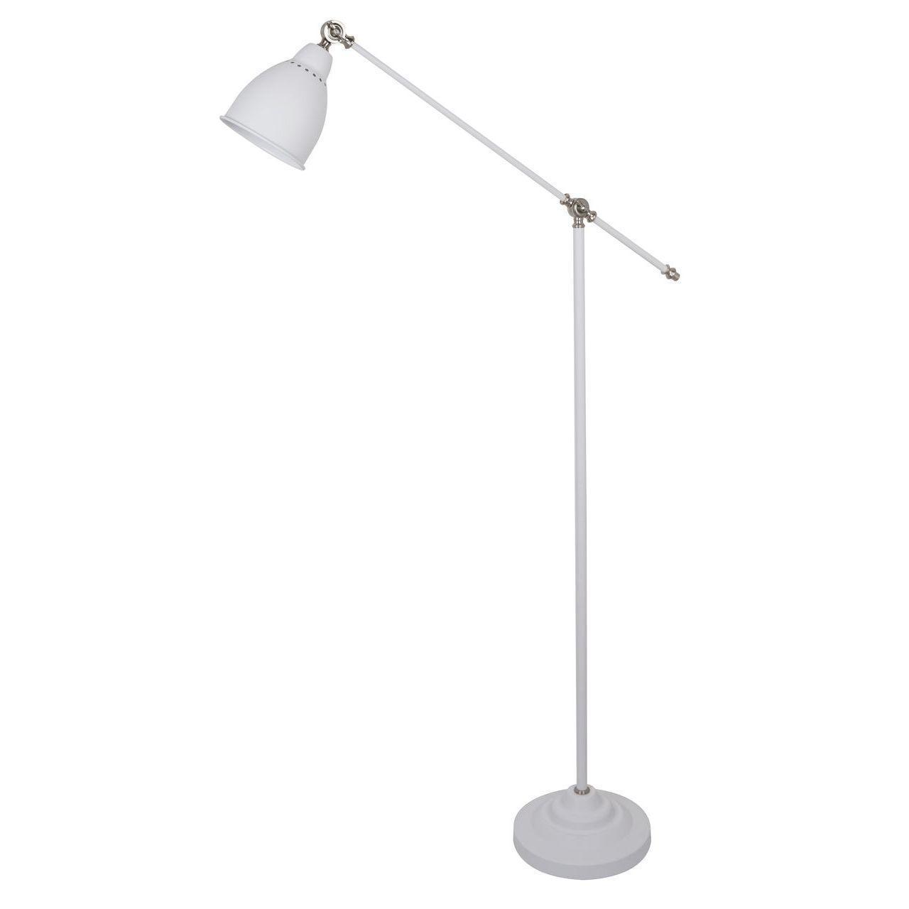 Торшер Arte Lamp Braccio A2054PN-1WH