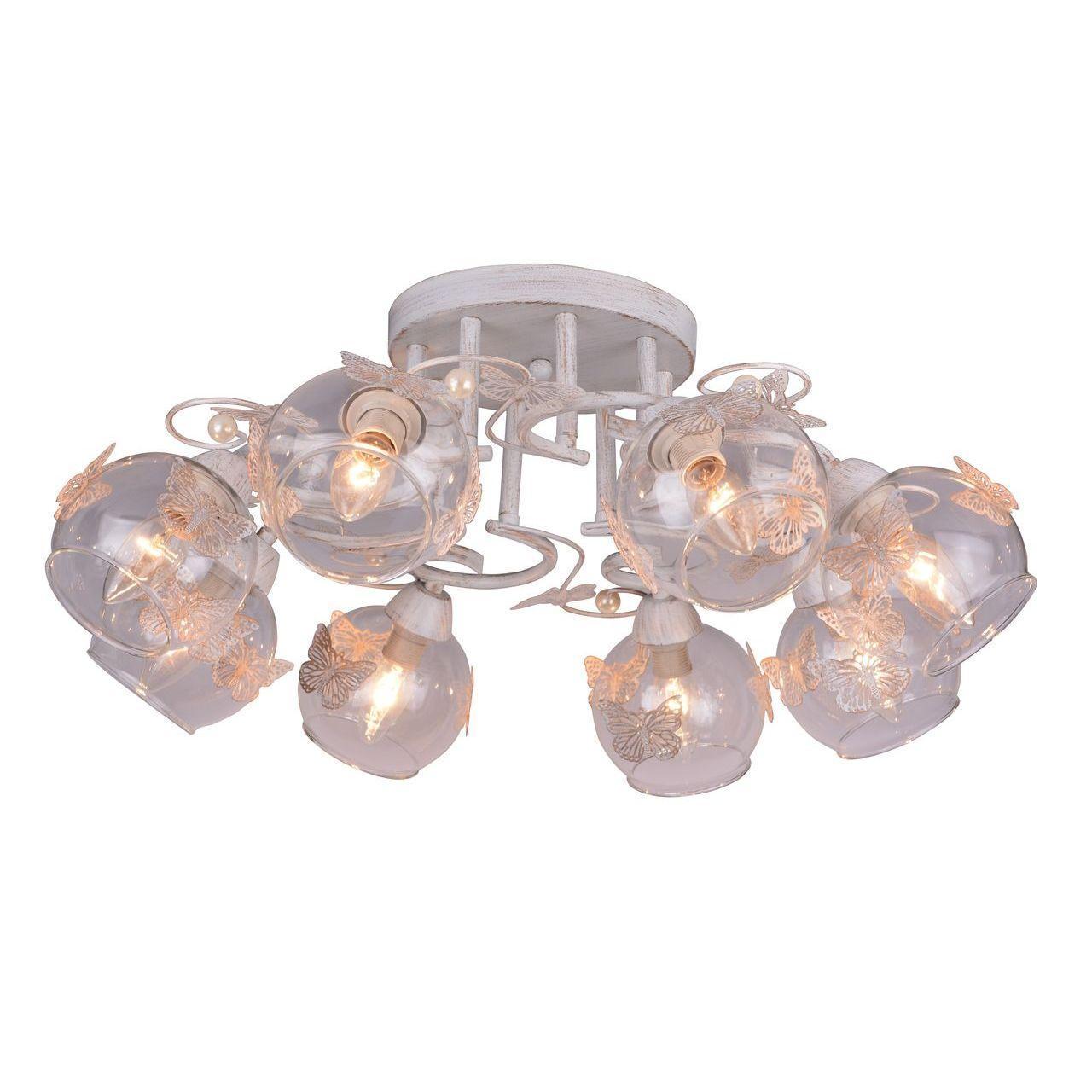 Люстра Arte Lamp Alessandra A5004PL-8WG потолочная arte lamp потолочная люстра arte lamp alessandra a5004pl 8ab