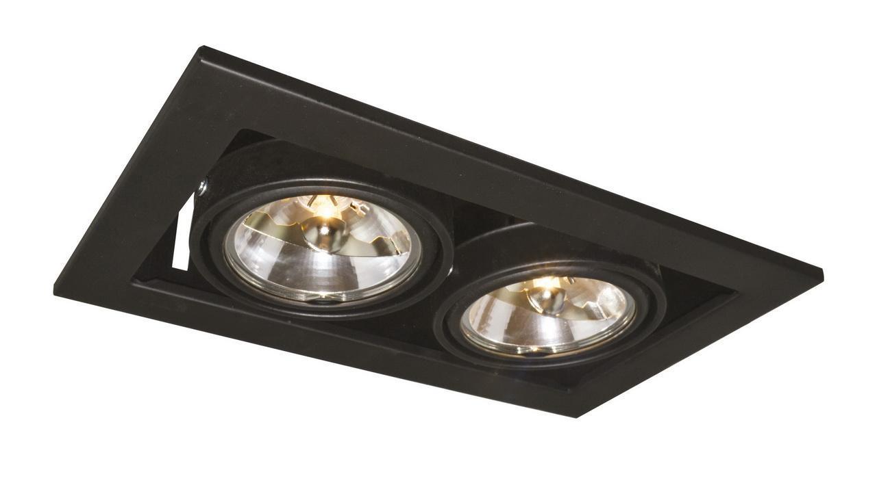 Встраиваемый светильник Arte Lamp Technika A5930PL-2BK цена