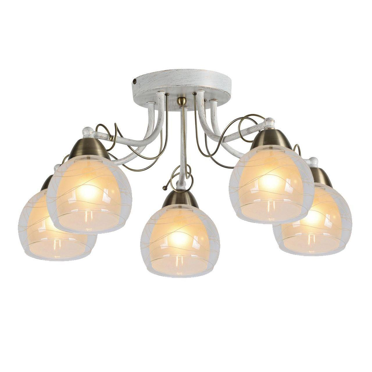 Люстра Arte Lamp Intreccio A1633PL-5WG потолочная потолочная люстра arte lamp intreccio a1633pl 5wg