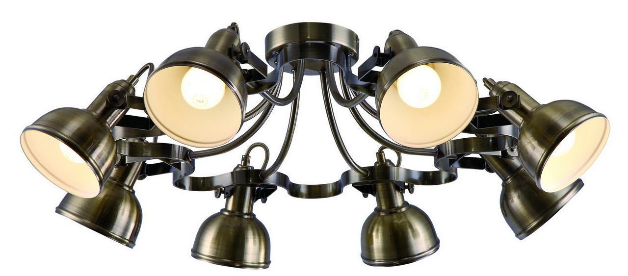 Люстра Arte Lamp Martin A5216PL-8AB потолочная цены