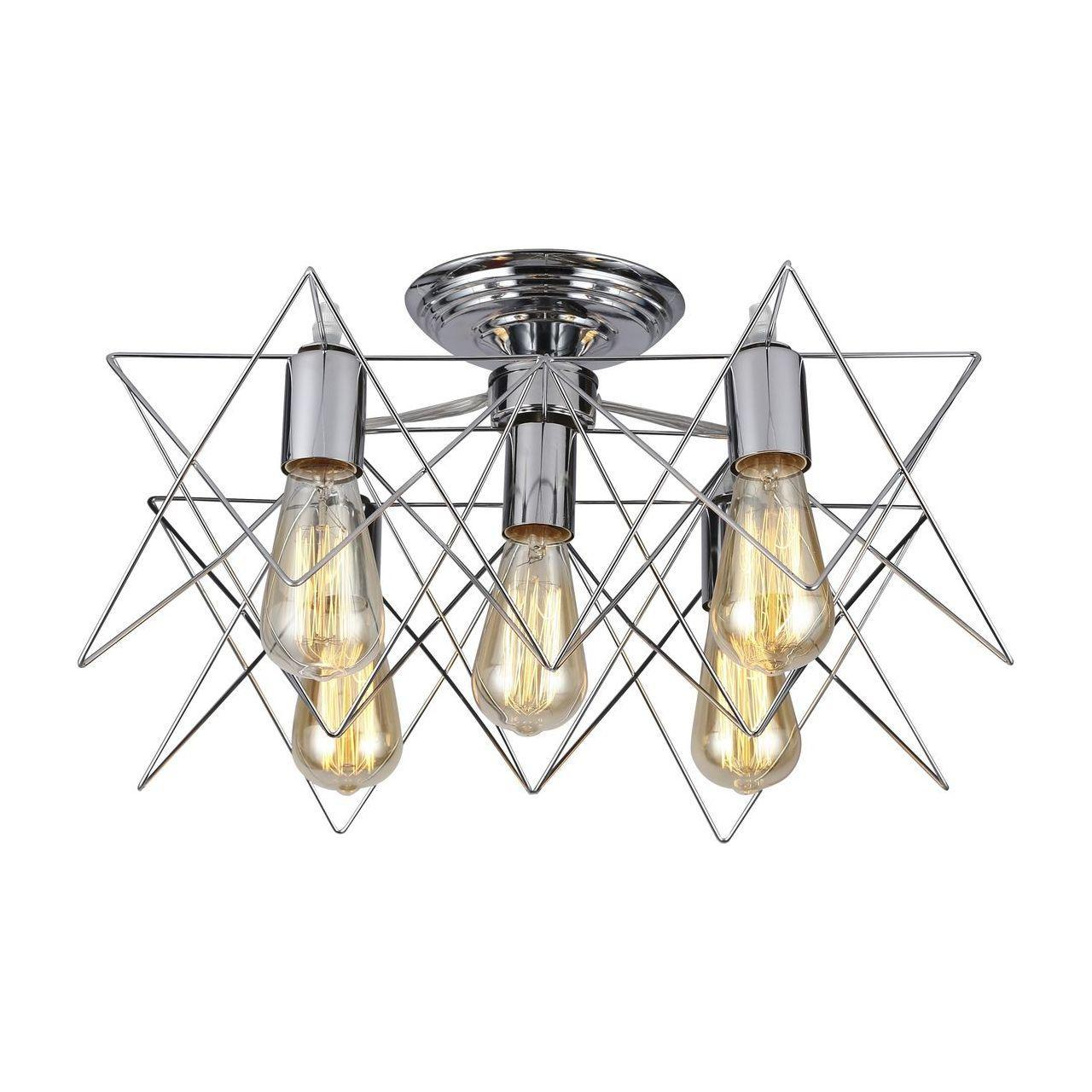 Люстра Arte Lamp A6048PL-5CC потолочная цена