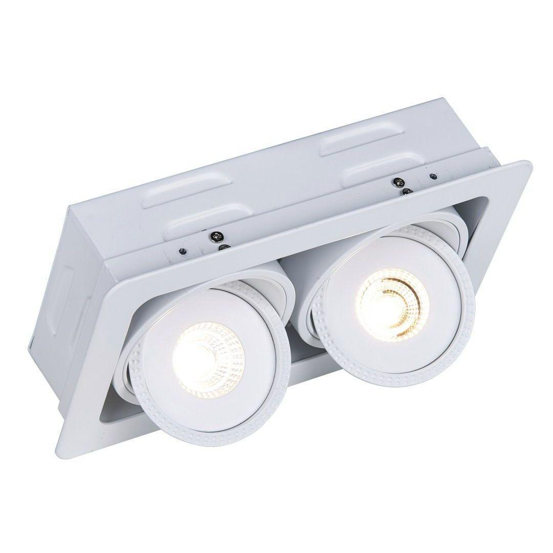 Встраиваемый светодиодный светильник Arte Lamp Studio A3007PL-2WH godox ds300 300w photography strobe flash studio light lamp
