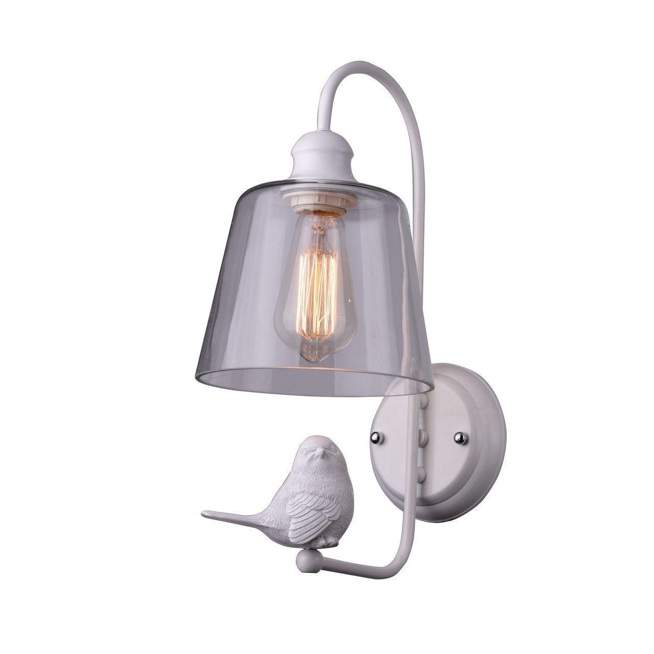 Бра Arte Lamp Passero A4289AP-1WH бра arte lamp passero 1 х e27 40 w a4289ap 1wh