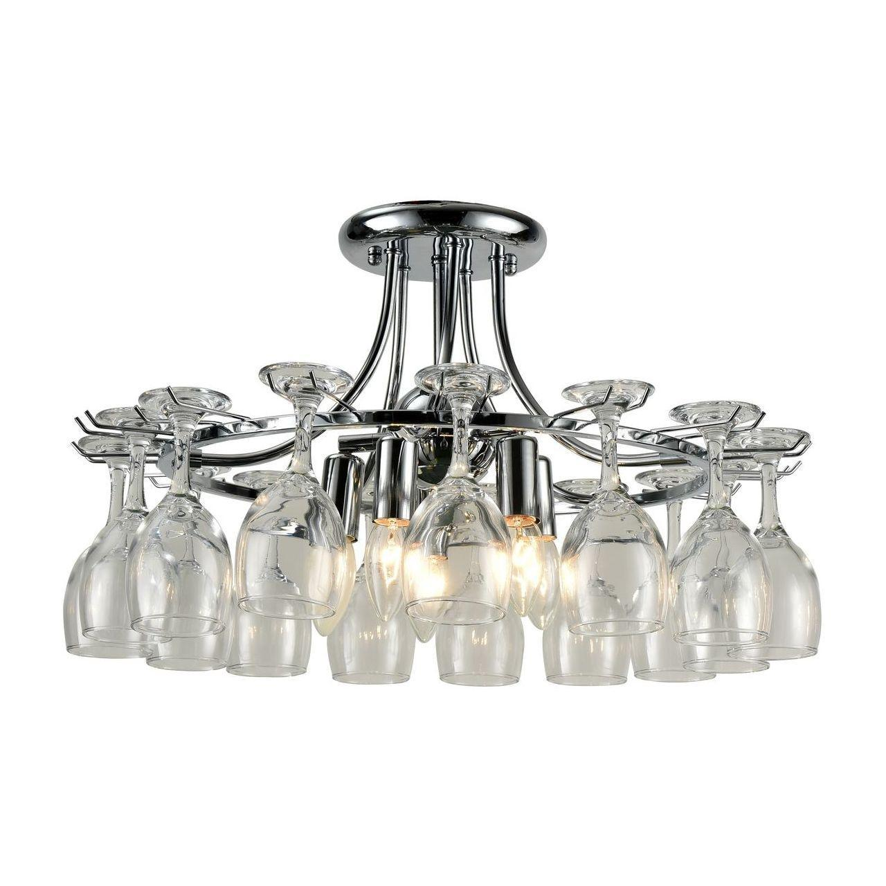 Люстра Arte Lamp A7043PL-5CC потолочная цена