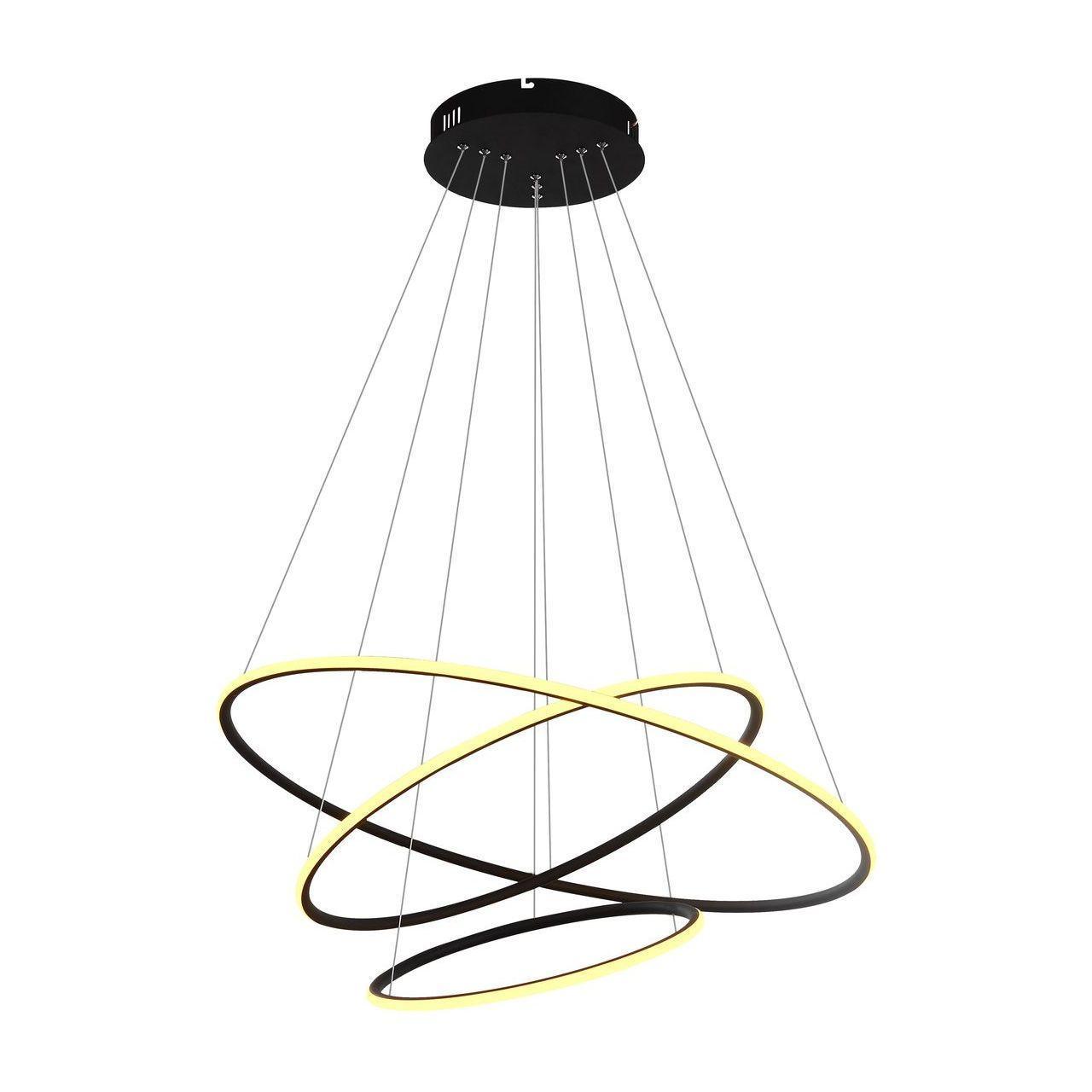 Подвесной светодиодный светильник Arte Lamp A2500SP-3BK накладной светильник arte lamp falcon a5633pl 3bk