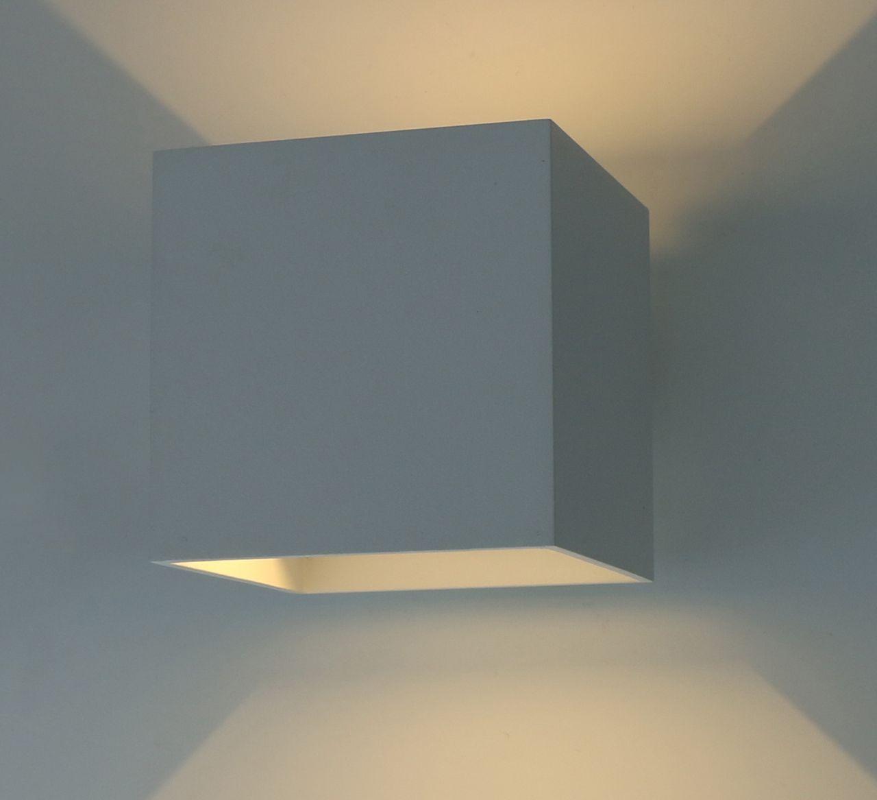 Уличный настенный светодиодный светильник Arte Lamp Rullo A1414AL-1WH накладной светильник arte lamp a1414al 1wh