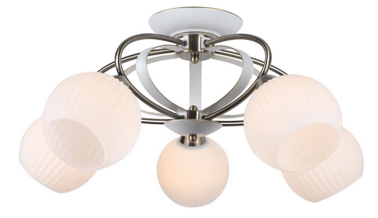 Люстра Arte Lamp Ellisse A6342PL-5WG потолочная arte lamp потолочная люстра ellisse a6342pl 5wg