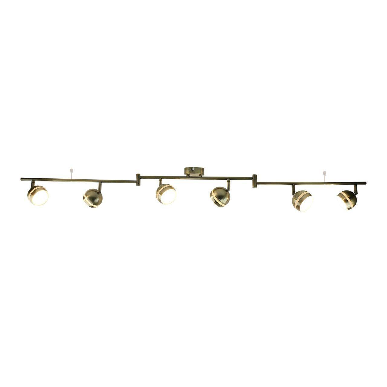 Трековая светодиодная система Arte Lamp Venerd A6009PL-6AB спот точечный светильник arte lamp venerd a6009pl 6ab