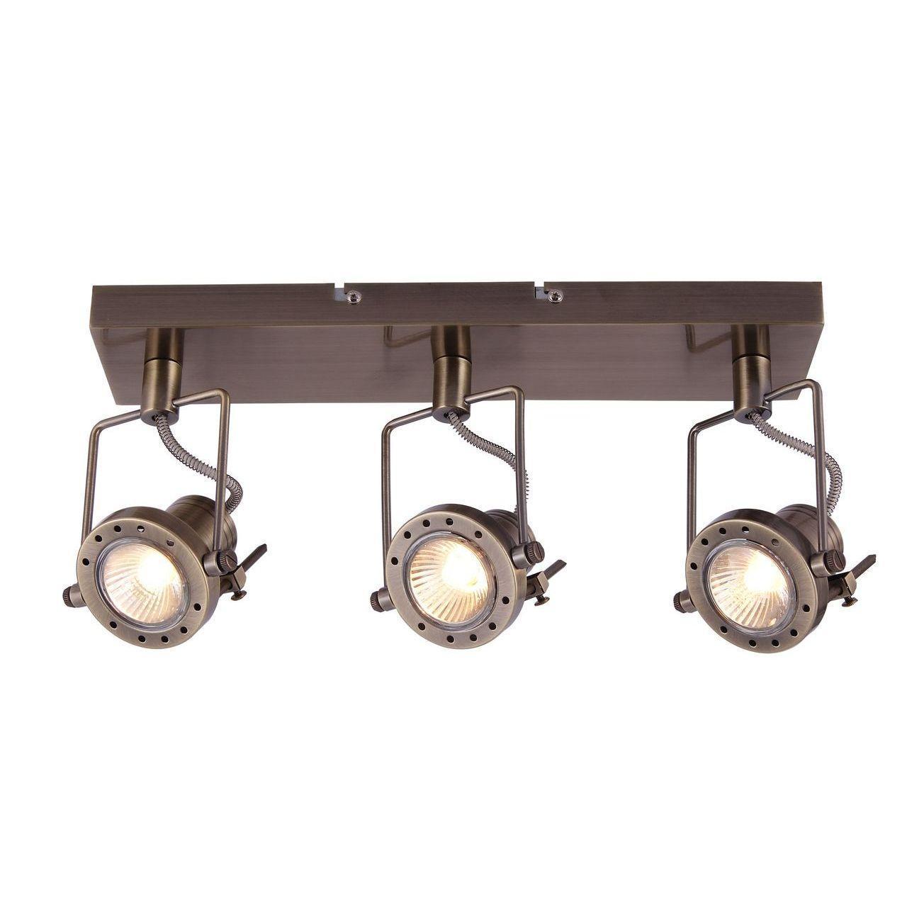 Фото - Спот Arte Lamp Costruttore A4300PL-3AB спот arte lamp costruttore a4300pl 4ab