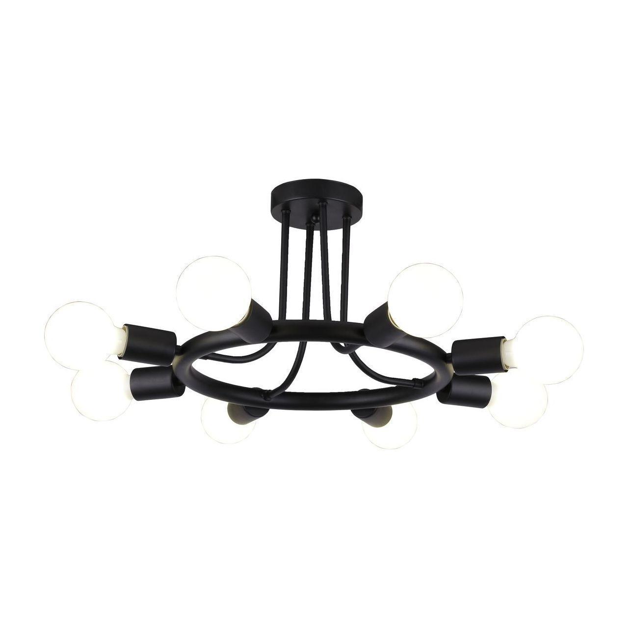 Люстра Arte Lamp A6063PL-8BK потолочная