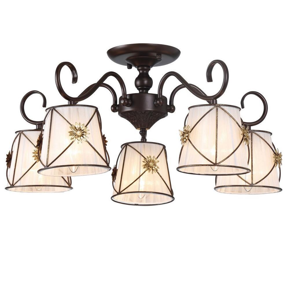 Люстра Arte Lamp 72 A5495PL-5BR потолочная arte lamp a5495pl 5br