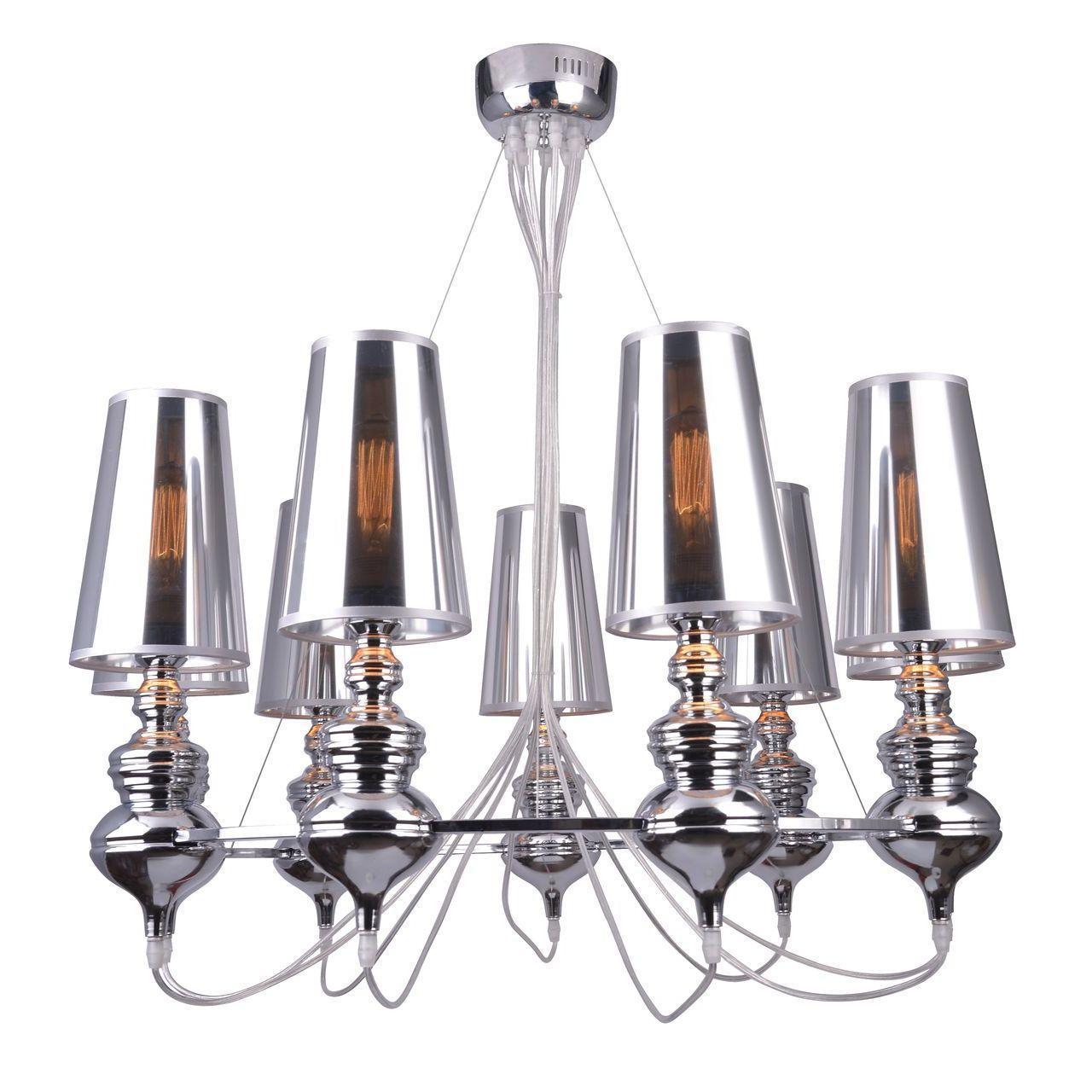 Подвесная люстра Arte Lamp Anna Maria A4280LM-9CC arte lamp подвесная люстра arte lamp anna maria a4280lm 6cc
