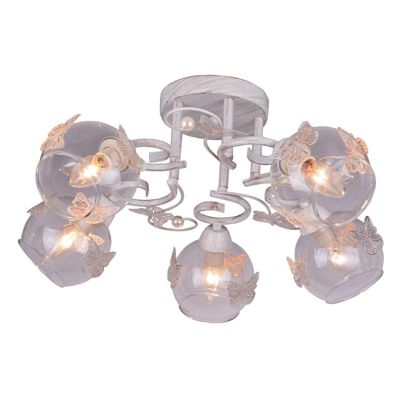 Люстра Arte Lamp Alessandra A5004PL-5WG потолочная arte lamp потолочная люстра arte lamp alessandra a5004pl 8ab