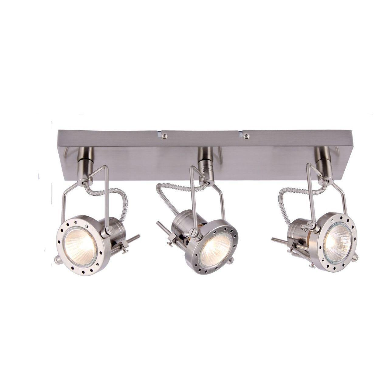 Фото - Спот Arte Lamp Costruttore A4300PL-3SS спот arte lamp costruttore a4300pl 4ab