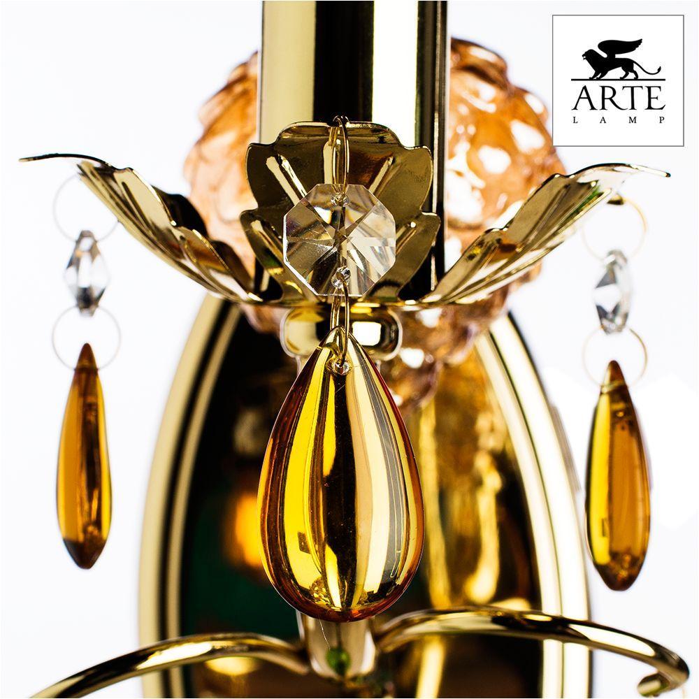 Бра Arte Lamp Ricchezza A2011AP-1GO цена 2017