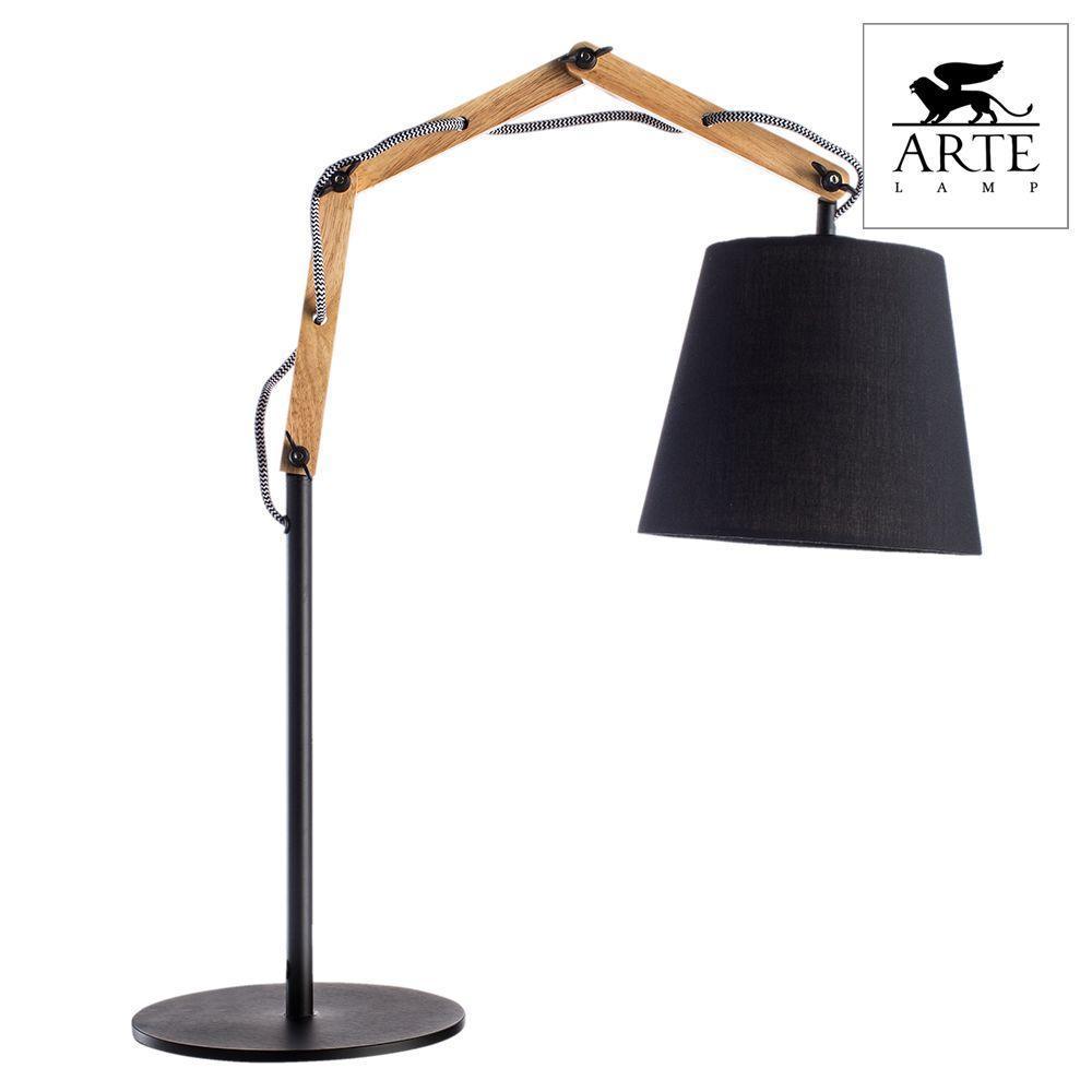 Настольная лампа Arte Lamp Pinoccio A5700LT-1BK a5700lt 1bk pinoccio настольная лампа