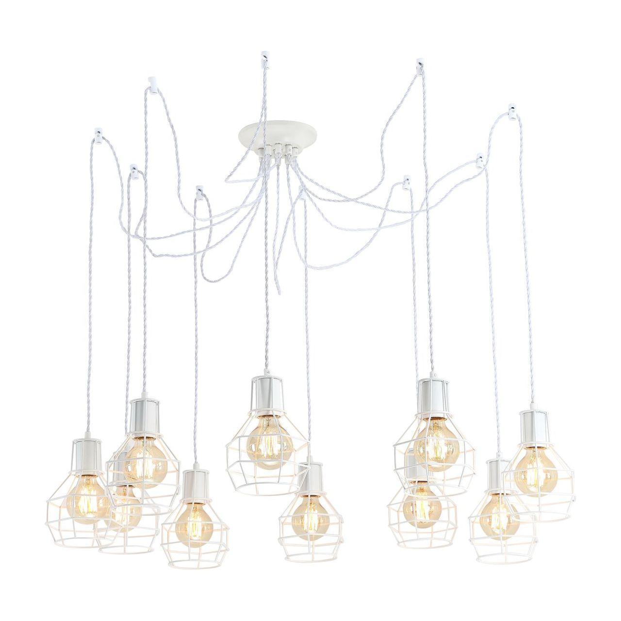 Люстра Arte Lamp A9182SP-10WH подвесная crystal lamp d1489 10wh