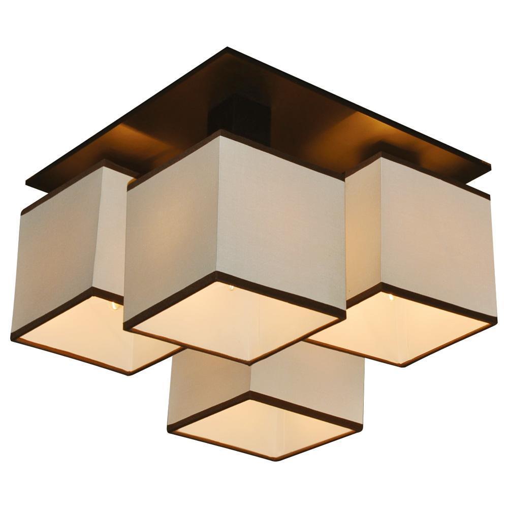 Люстра Arte Lamp Quadro A4402PL-4BK потолочная накладной светильник arte lamp quadro a4402pl 4bk