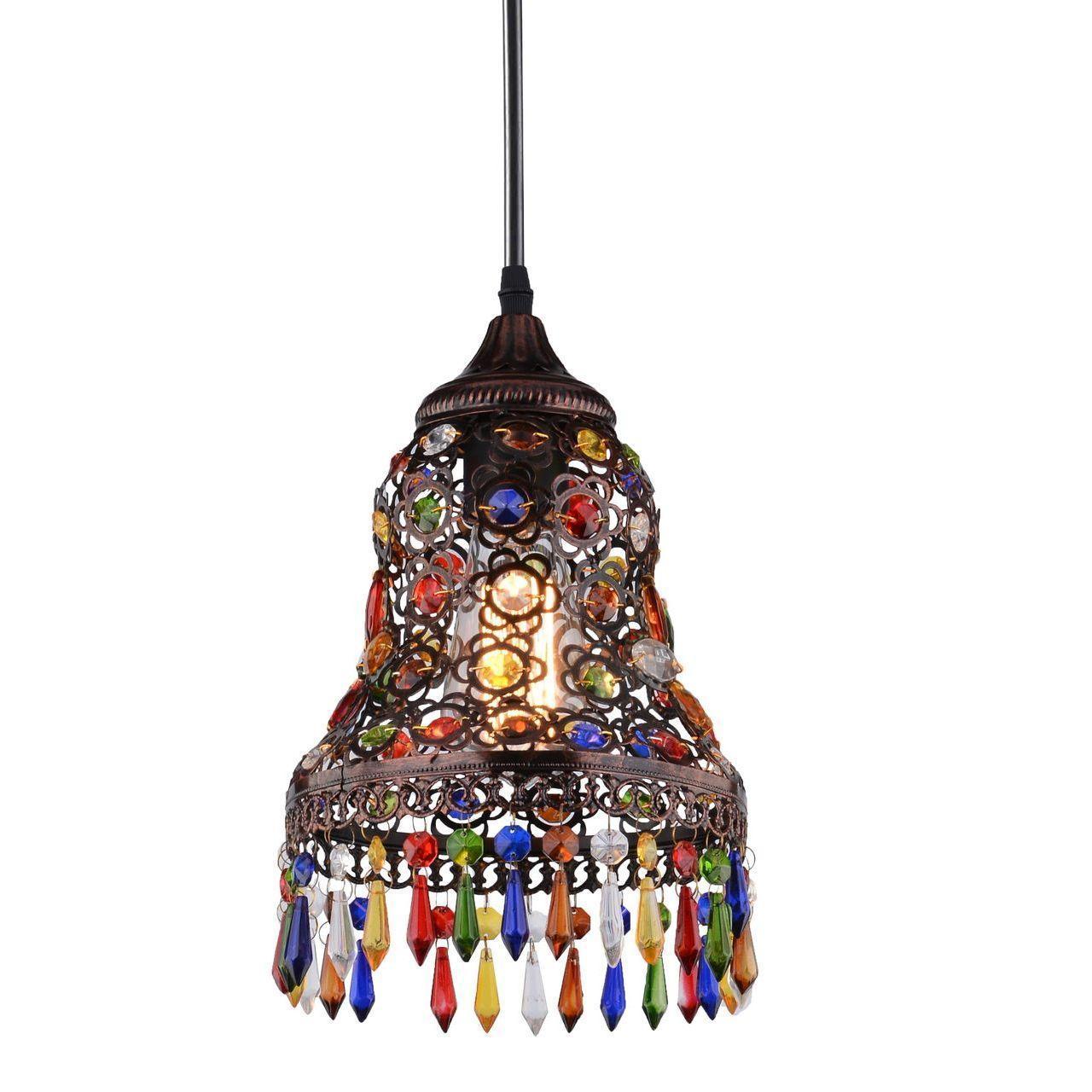Подвесной светильник Arte Lamp Maharaja A7079SP-1CK цена