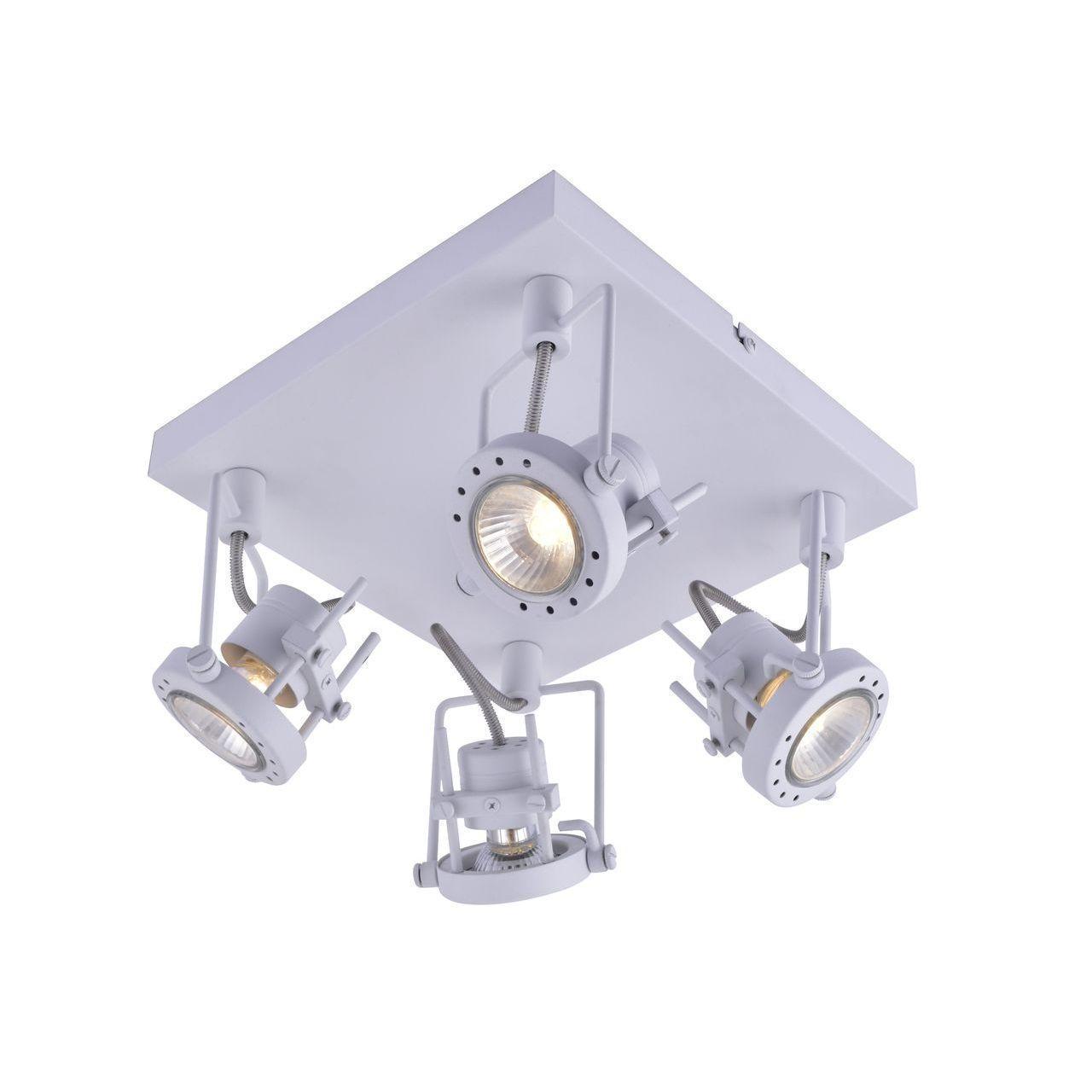Фото - Спот Arte Lamp Costruttore A4300PL-4WH спот arte lamp costruttore a4300pl 4ab