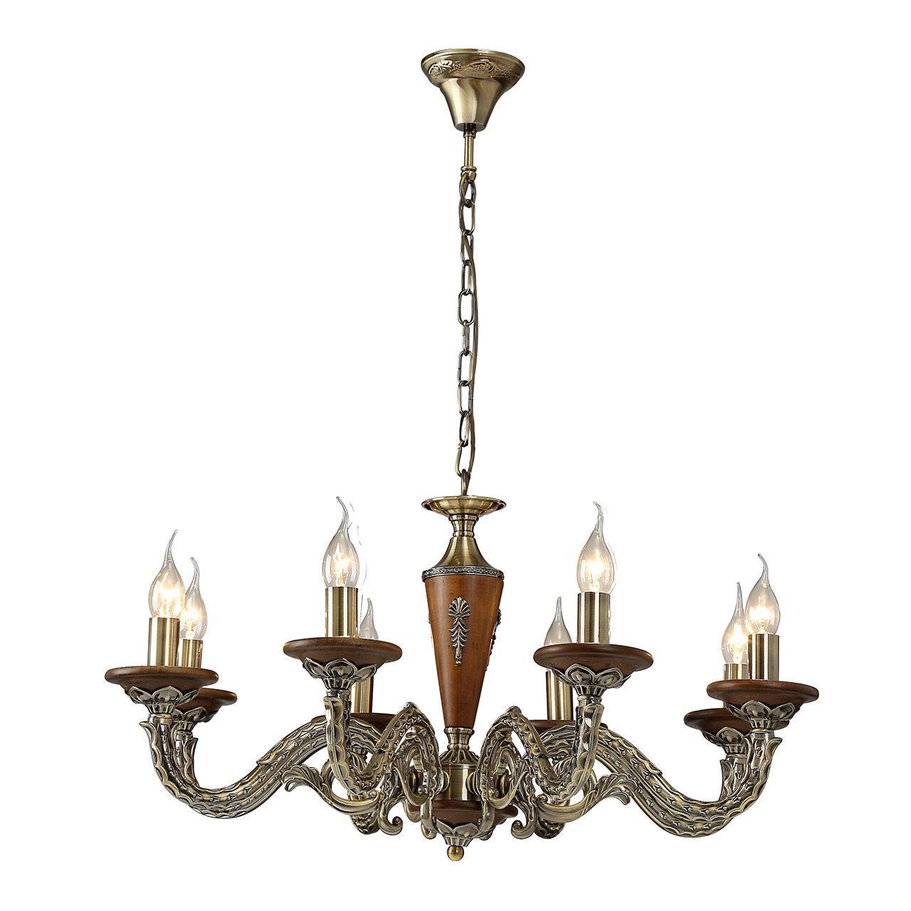 Люстра Arte Lamp Verdi A5603LM-8AB подвесная люстра arte lamp a5603lm 8ab