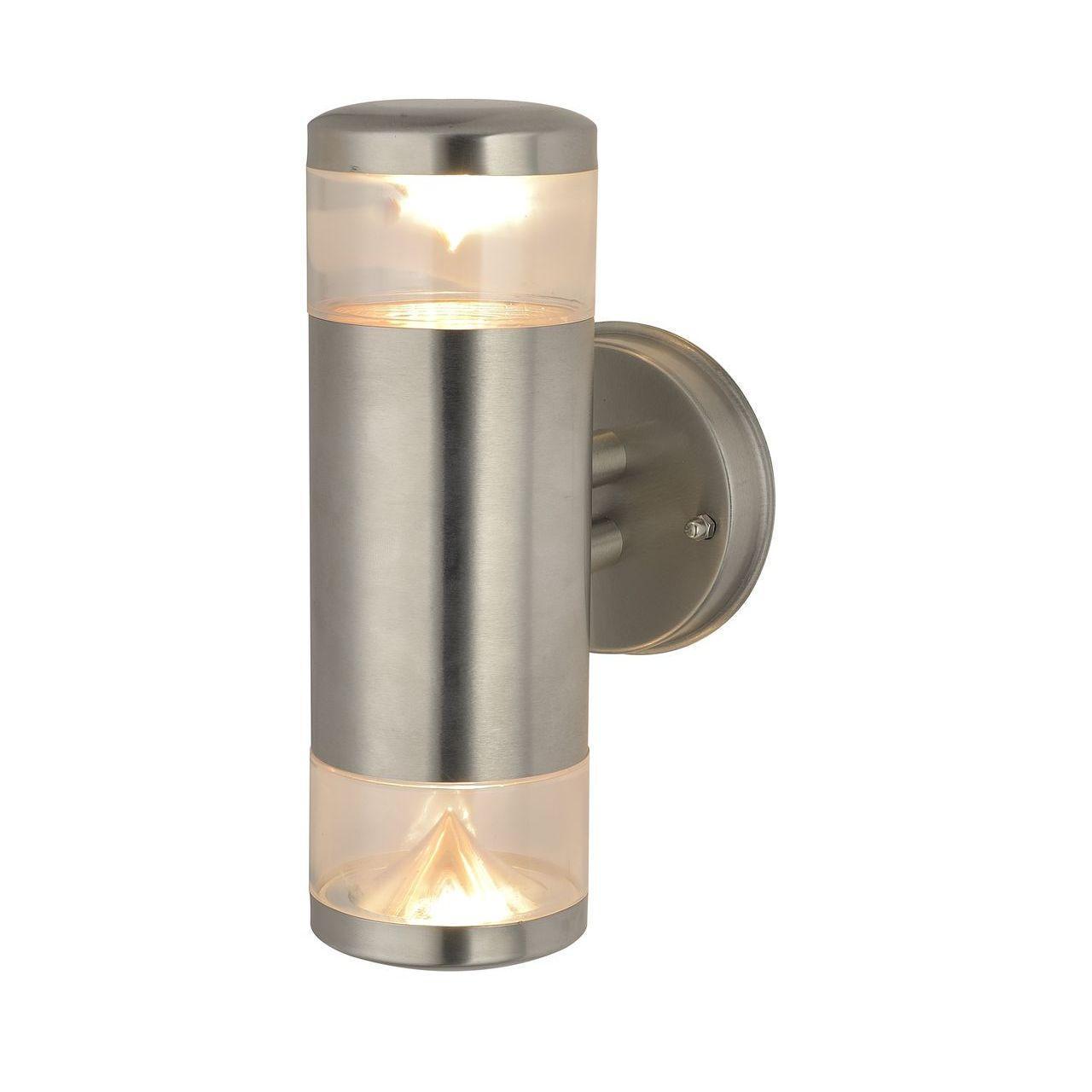 Уличный настенный светильник Arte Lamp Intrigo A8161AL-2SS цена и фото