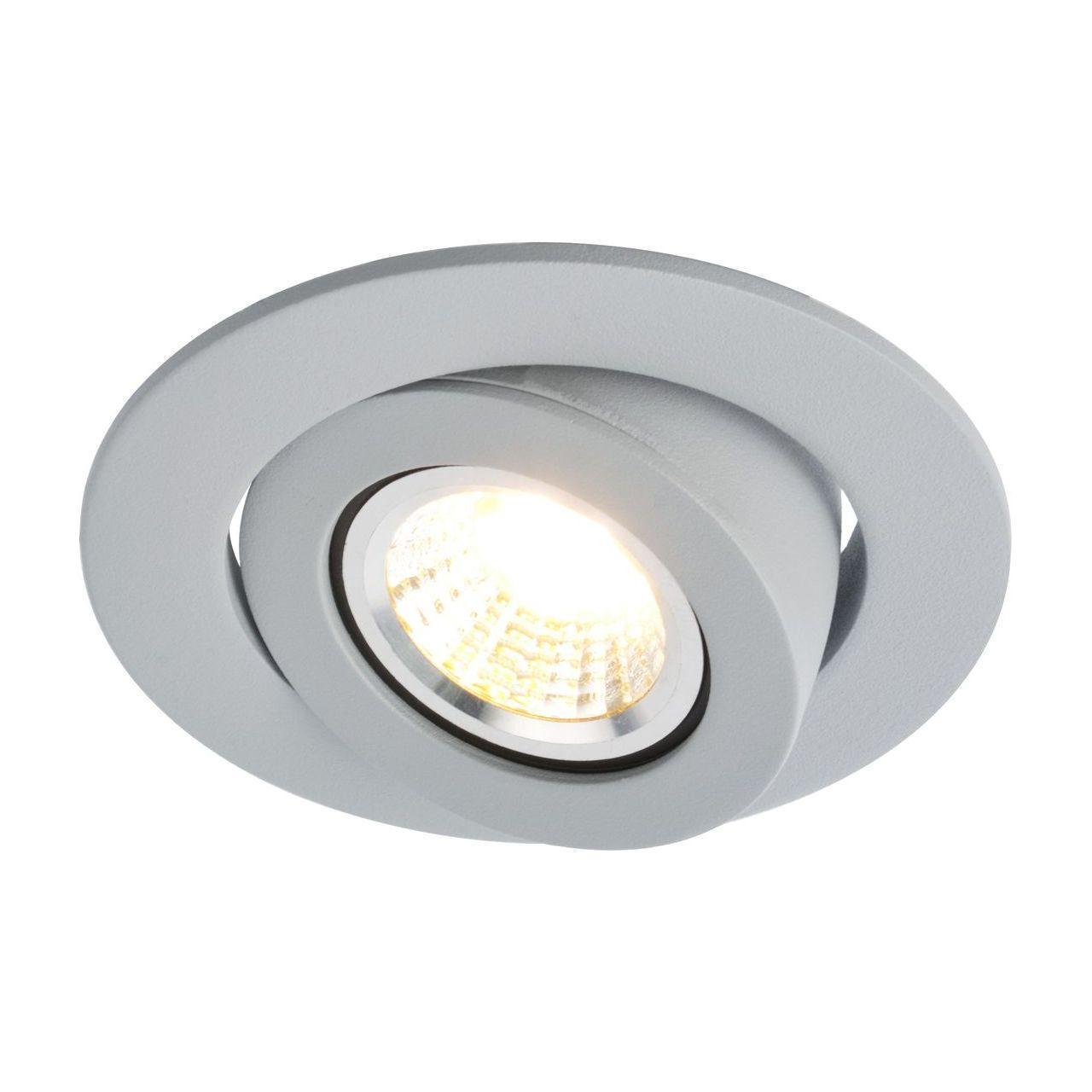 Встраиваемый светильник Arte Lamp Accento A4009PL-1GY встраиваемый светильник arte lamp accento a4009pl 1wh