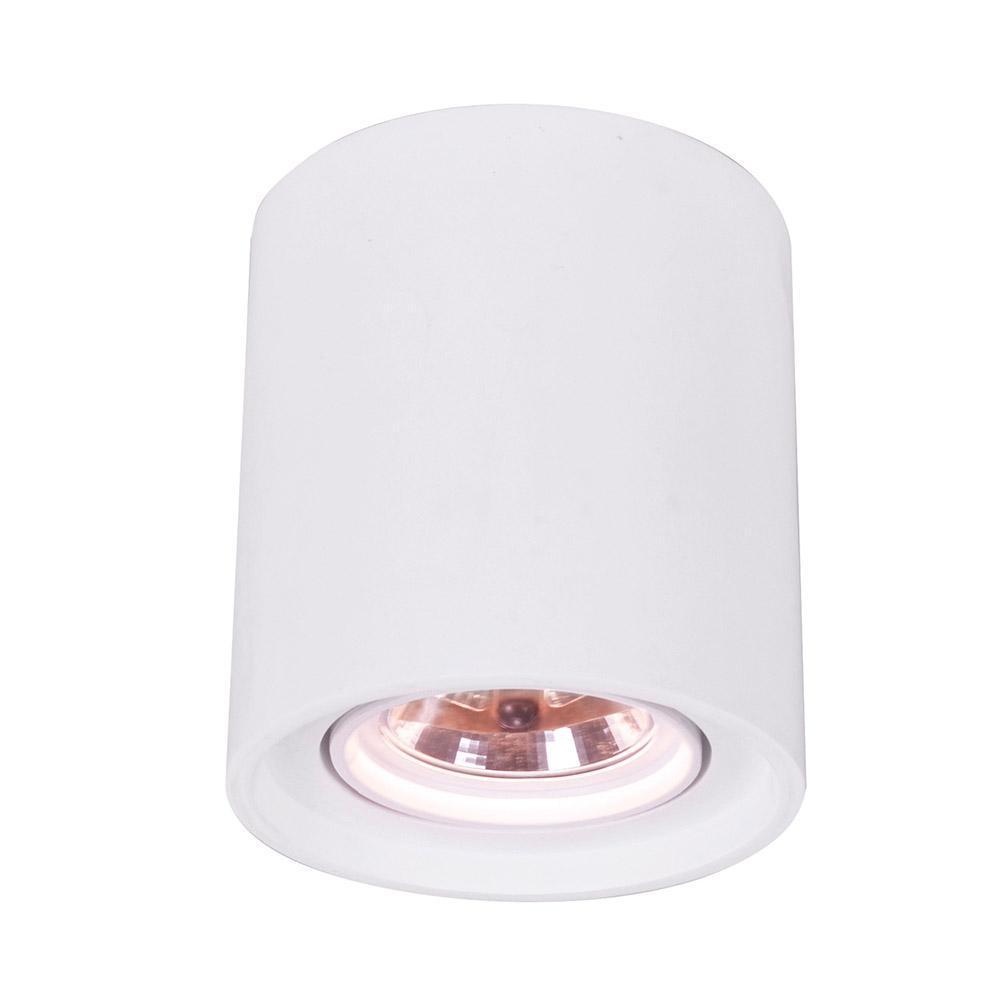 Встраиваемый светильник Arte Lamp Tubo A9262PL-1WH встраиваемый светильник arte lamp tubo a9262pl 1wh