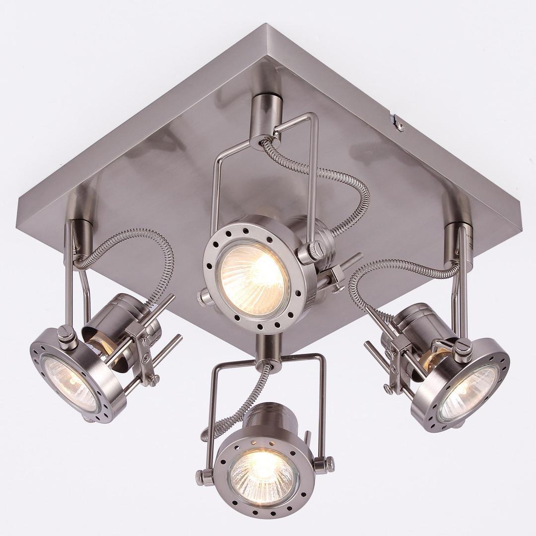 Фото - Спот Arte Lamp Costruttore A4300PL-4SS спот arte lamp costruttore a4300pl 4ab