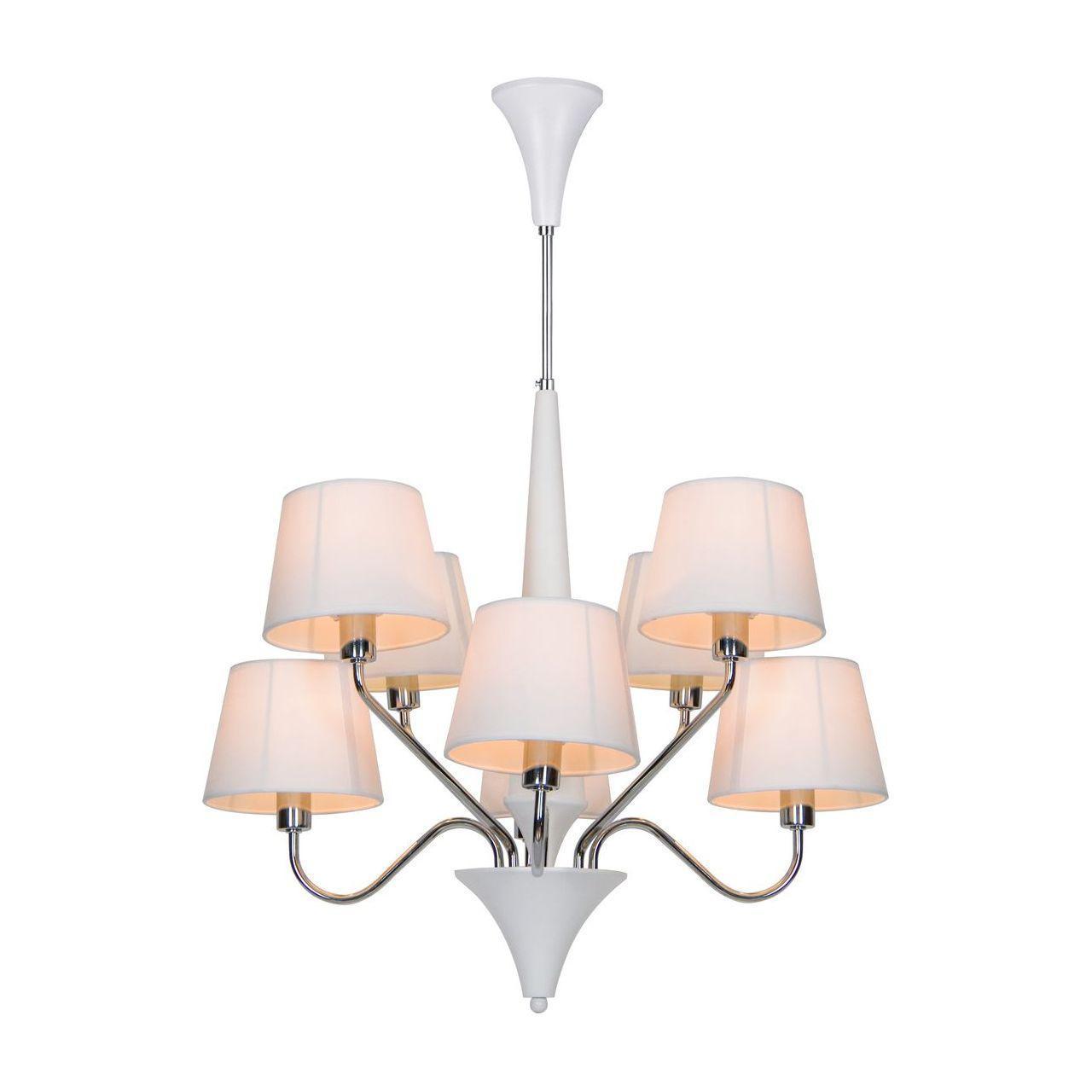 Подвесная люстра Arte Lamp A1528LM-8WH arte lamp prima a9130lm 8wh