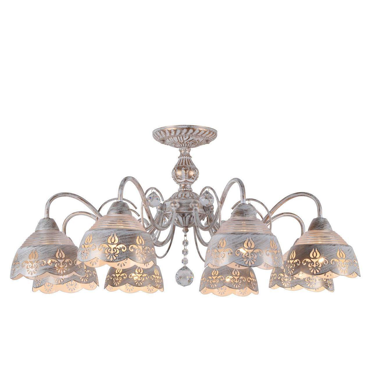 Люстра Arte Lamp Sicilia A9106PL-8WG потолочная arte lamp потолочная люстра arte lamp sicilia a9106pl 3wg