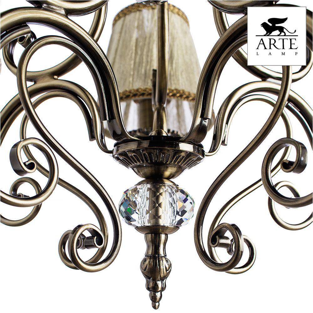 Подвесная люстра Arte Lamp Charm A2083LM-5AB arte lamp подвесная люстра arte lamp charm a2083lm 8ab
