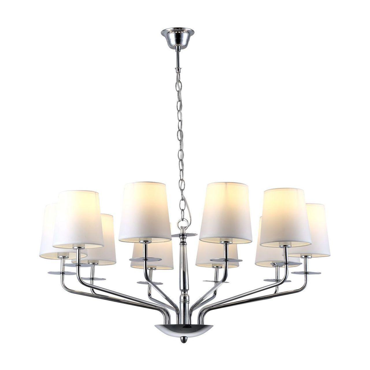 Люстра Arte Lamp A1048LM-10CC подвесная arte lamp люстра на штанге arte lamp palla a9162lm 10cc