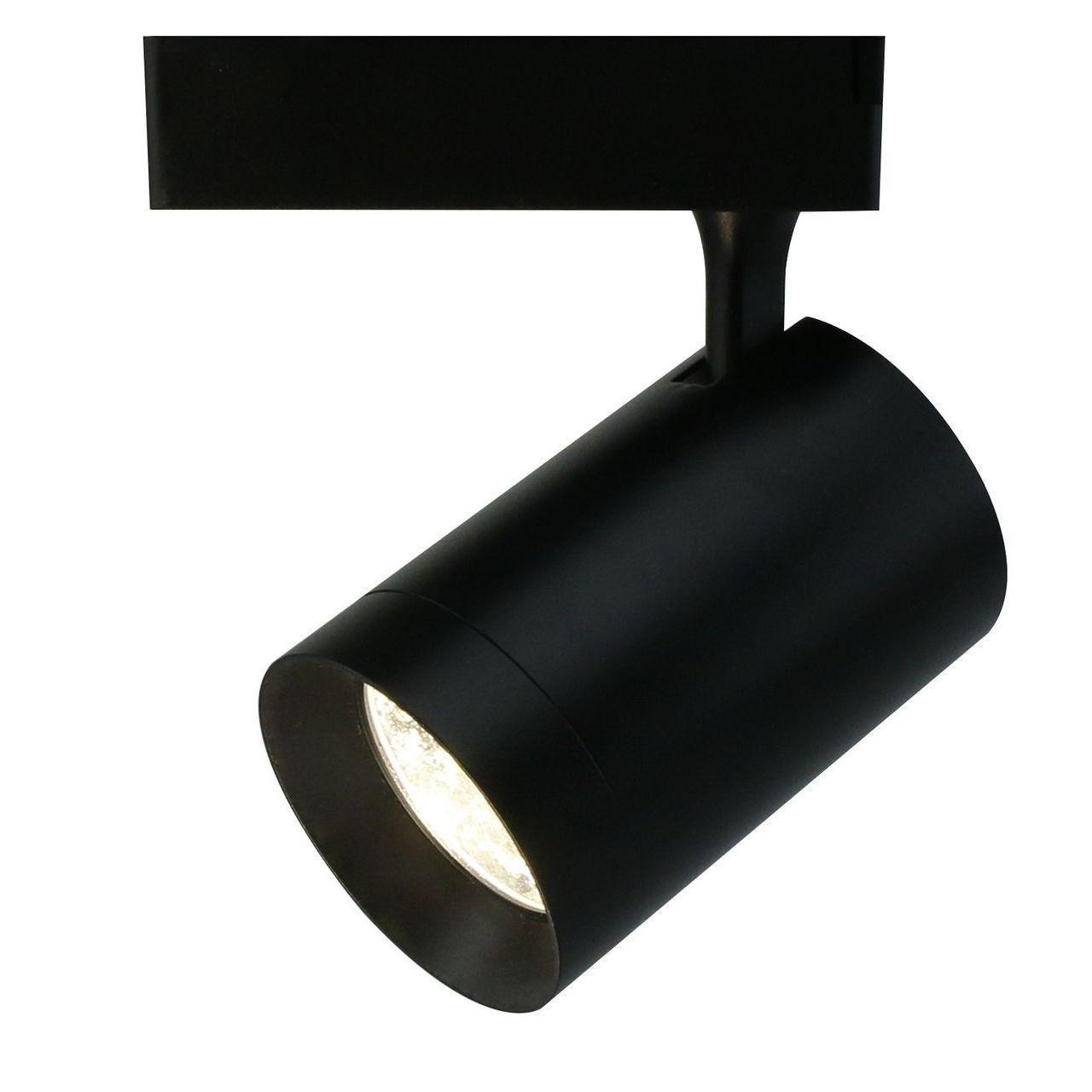 Трековый светодиодный светильник Arte Lamp Soffitto A1730PL-1BK arte lamp трековый светильник arte lamp soffitto a1710pl 1bk