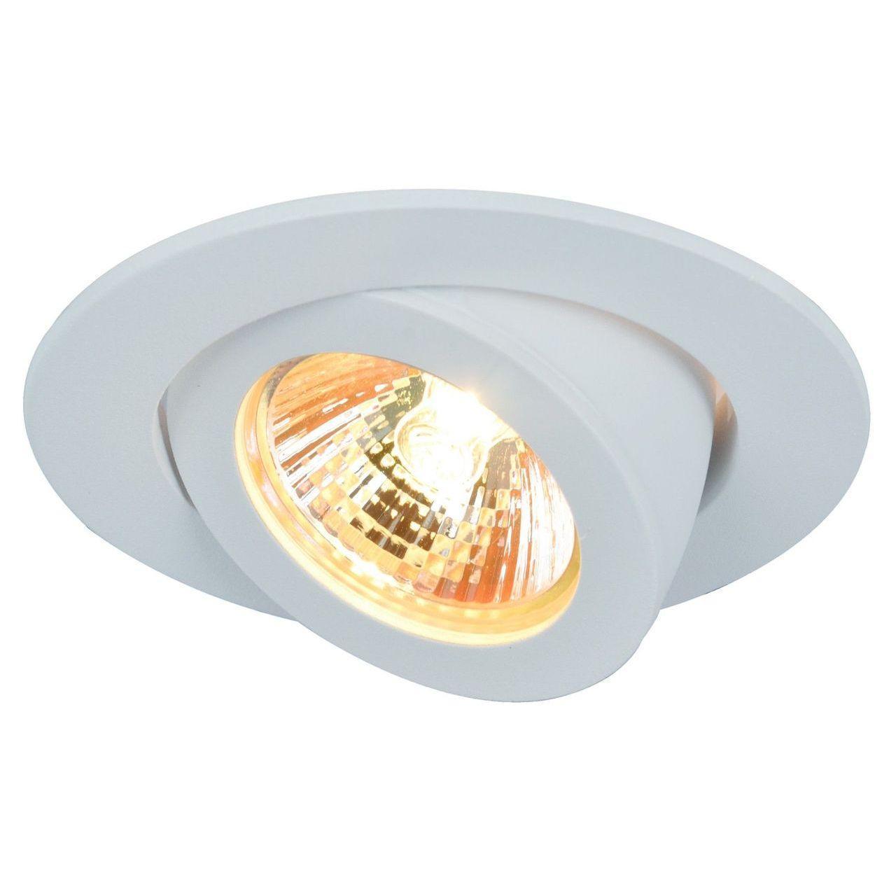 Встраиваемый светильник Arte Lamp Accento A4009PL-1WH встраиваемый светильник arte lamp accento a4009pl 1wh