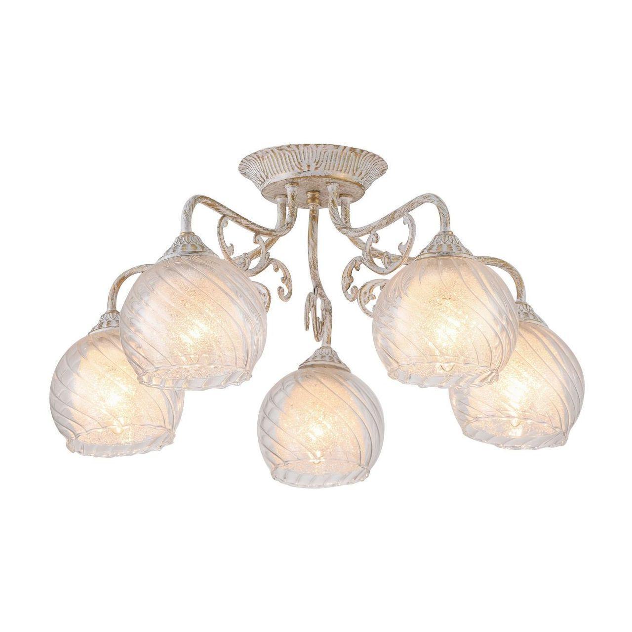 купить Люстра Arte Lamp A7062PL-5WG потолочная по цене 7950 рублей
