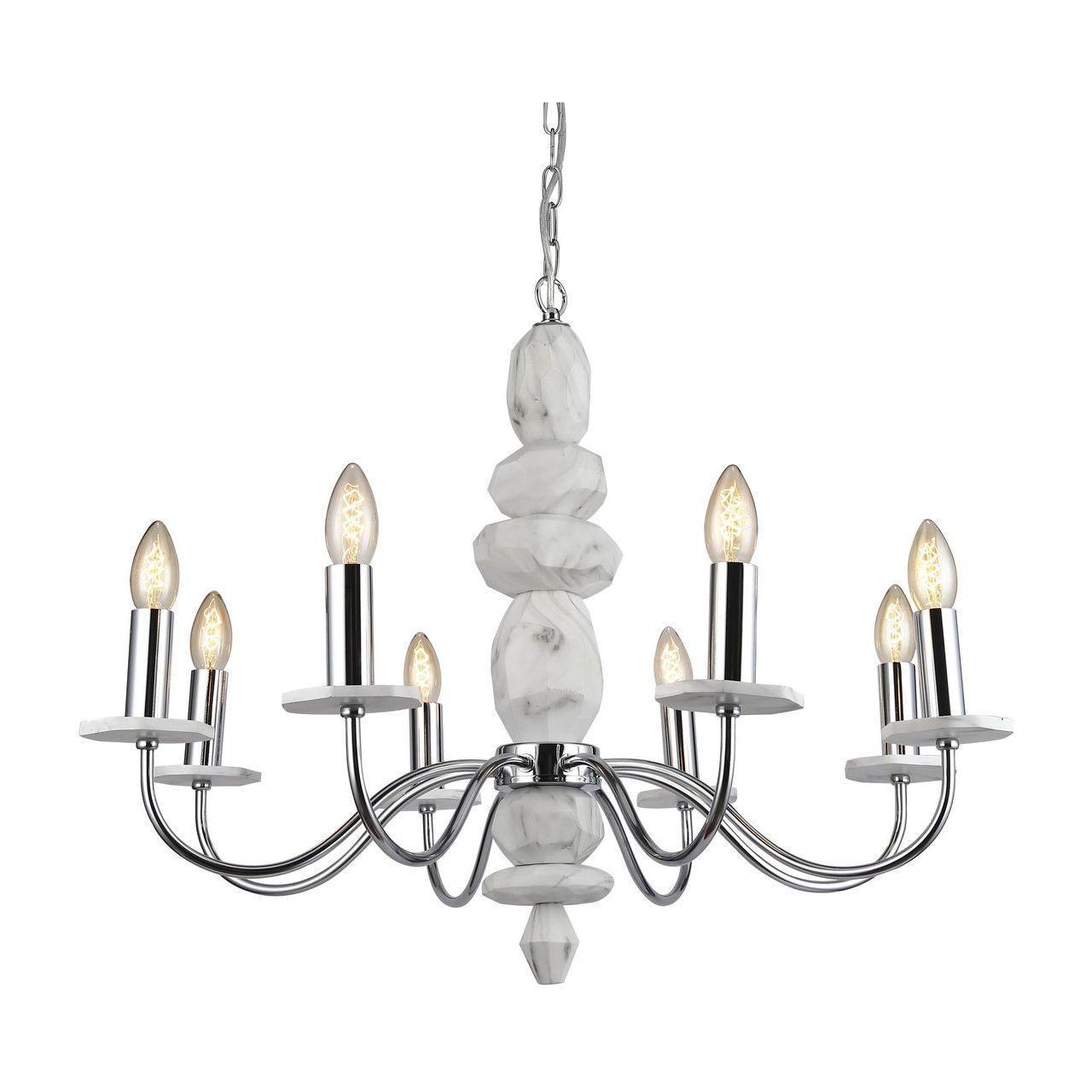 Люстра Arte Lamp A6062LM-8WH подвесная цена