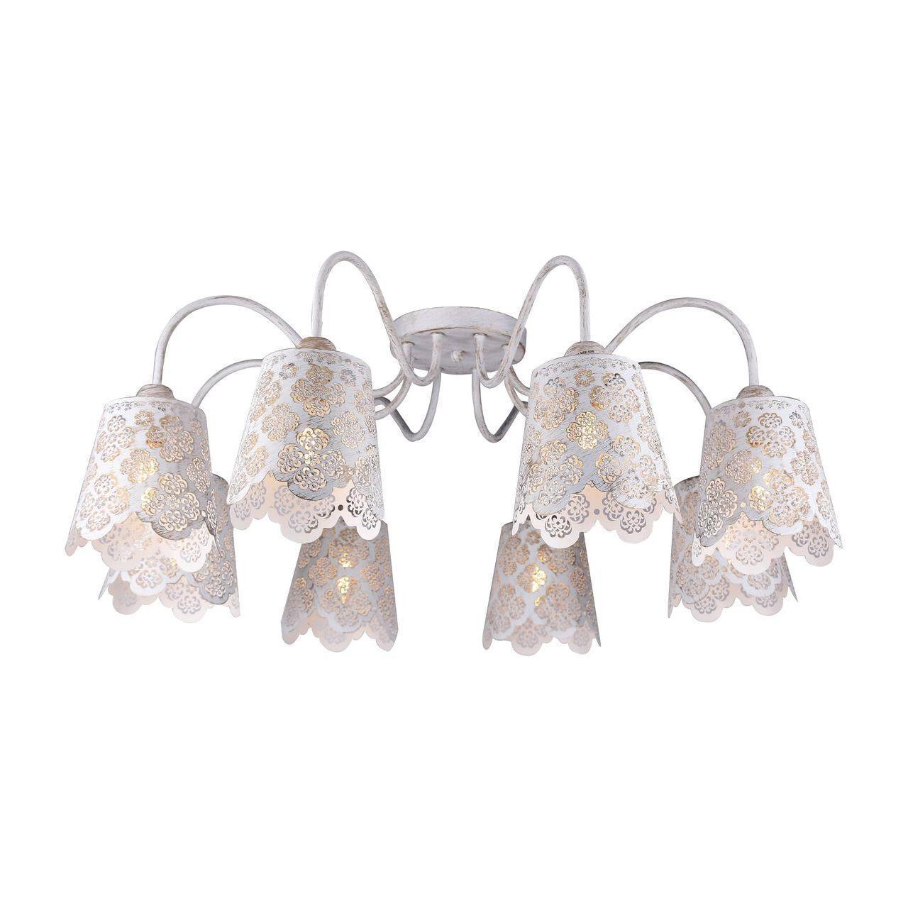 Люстра Arte Lamp A2032PL-8WG потолочная arte lamp a9395lm 8wg