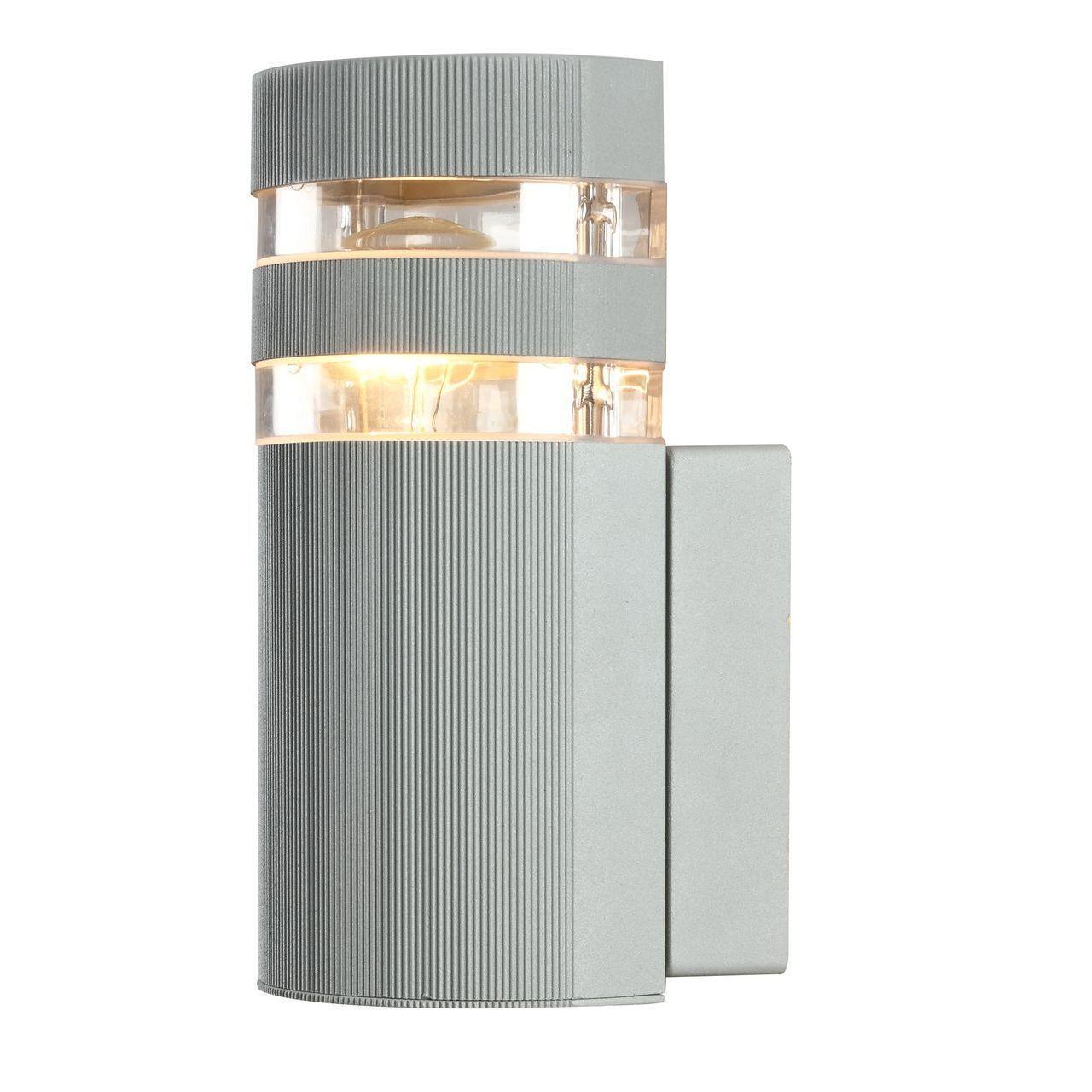 Уличный настенный светильник Arte Lamp Metro A8162AL-1GY уличный светильник arte lamp a8162al 1gy
