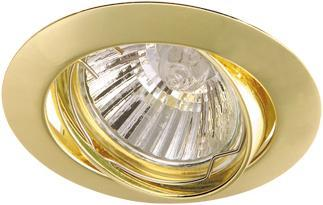 Встраиваемый светильник Arte Lamp Basic (компл. 3шт.) A2105PL-3GO встраиваемый светильник arte lamp basic a2105pl 3wh