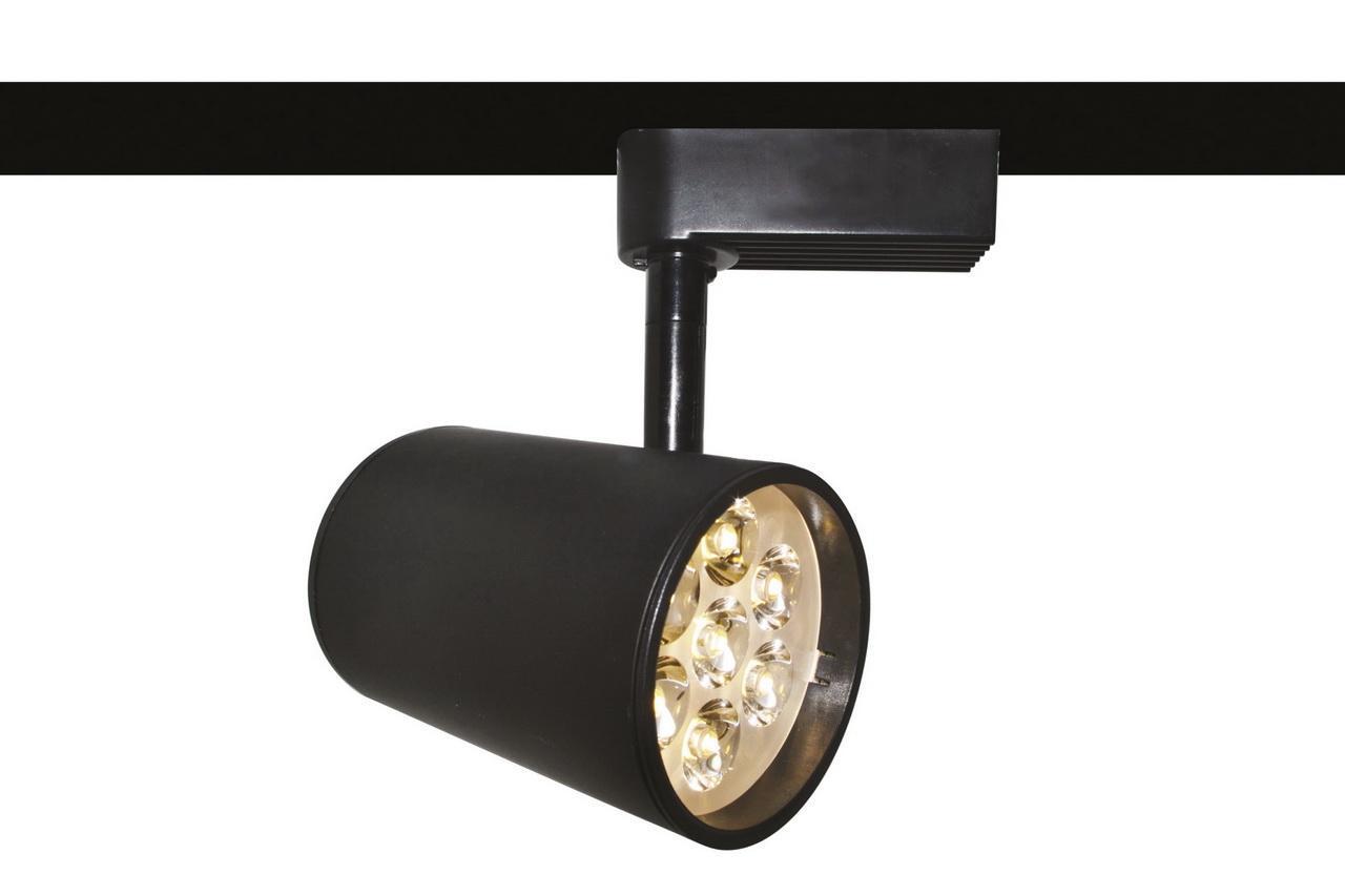 Трековый светильник Arte Lamp Track Lights A6107PL-1BK arte lamp спот track lights a6107pl 1wh