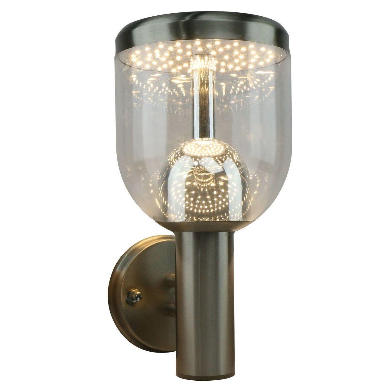 Уличный настенный светодиодный светильник Arte Lamp Inchino A8163AL-1SS