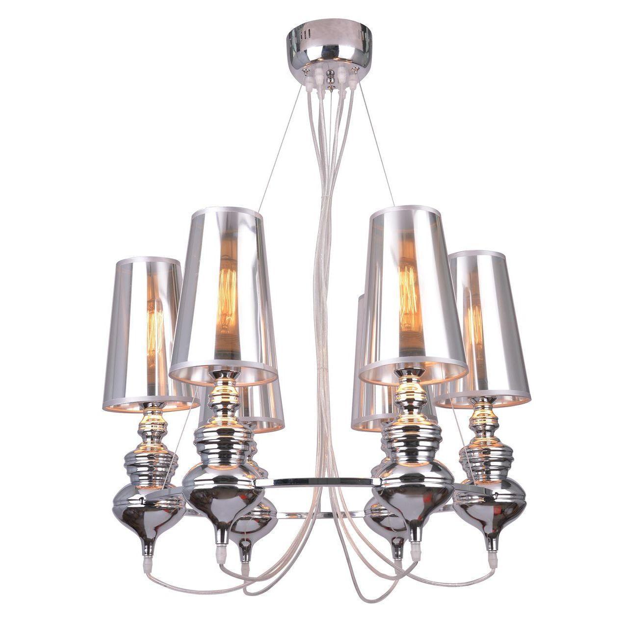 Подвесная люстра Arte Lamp Anna Maria A4280LM-6CC arte lamp подвесная люстра arte lamp anna maria a4280lm 6cc