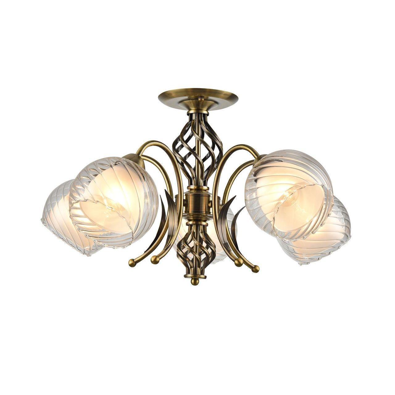 Люстра Arte Lamp Dolcemente A1607PL-5AB потолочная цена